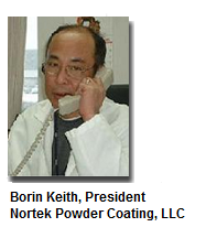 Borin Keith President of Nortek Powder Coating